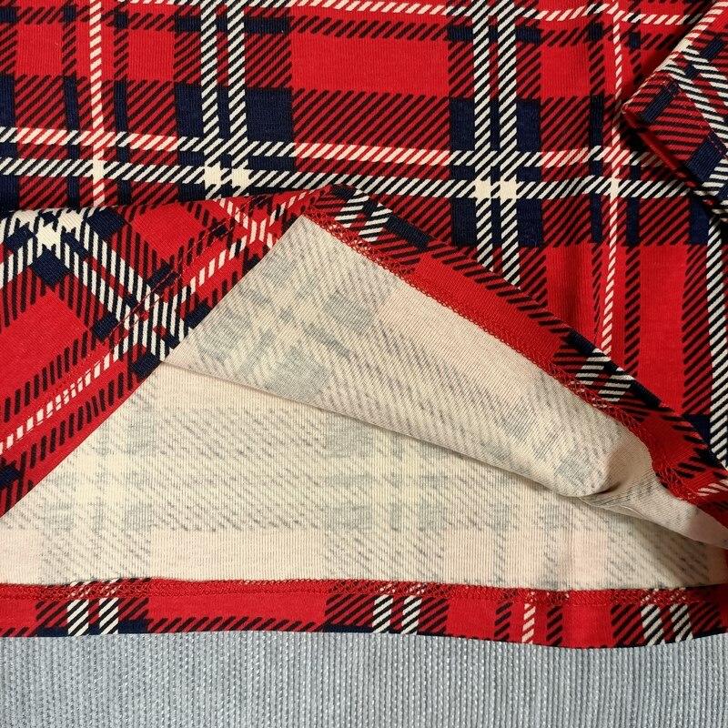 BOBOZONE PANDA DUCK PLAID Long sleeve T-SHIRT and leggings for kids boys girls autumn winter 6