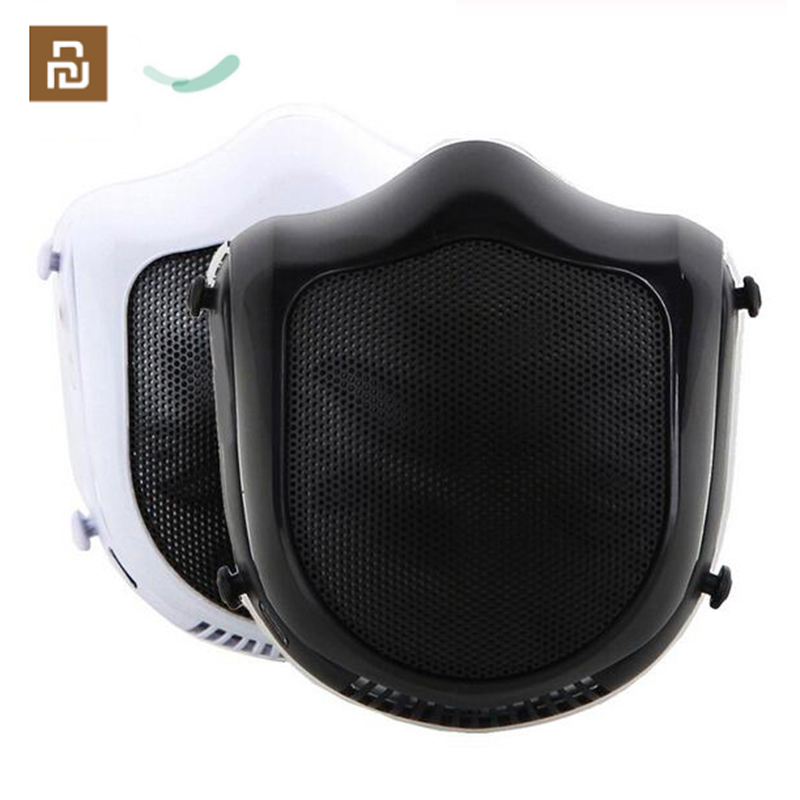 Youpin Q5S Electric Sterilizing Mask Haze Dust With Filter Mask Air Purifier Provides Active Air Supply Electric Respirator Mask