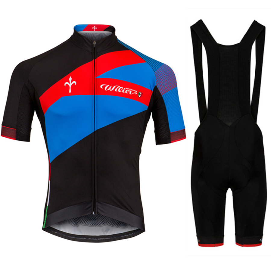 Wiliing 2020 NEW Summer Cycling Jersey Set High Quality Bib Shorts  Road Bike Bicycle Clothes Mtb Ropa Ciclismo Hombre Maillot