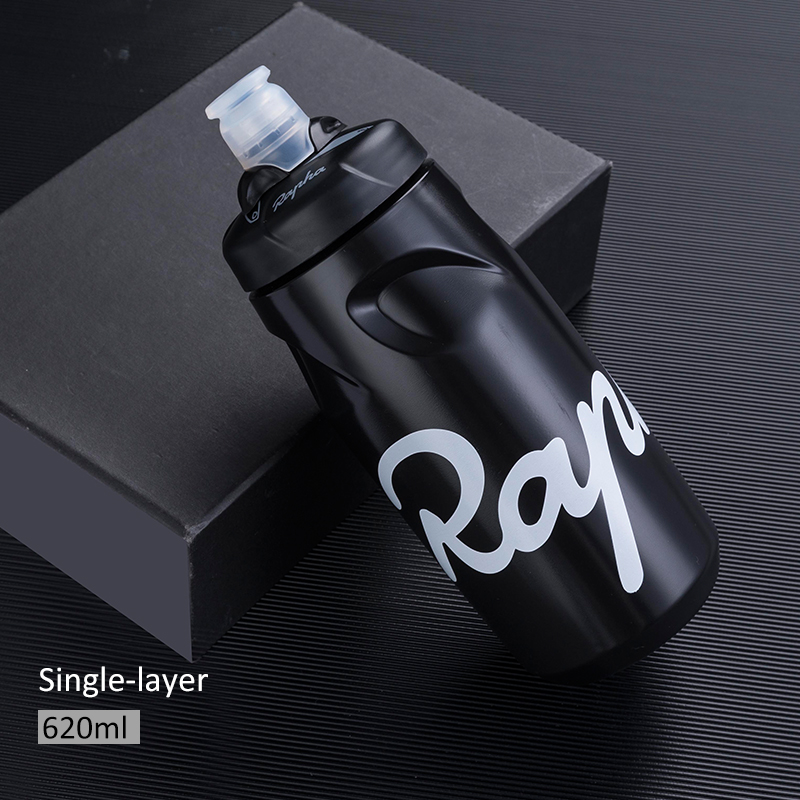 Rapha Cycling Water Bottle Safe Non-toxic With Cover Bicycle Water Bottle 620ML 750ML Bike Portable Taste-free Bike Waterbottle