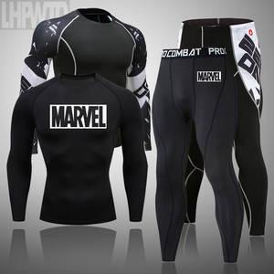 Leggings Clothing Thermal-Underwear-Set MMA G-Johns Compress Fitness Tactics Winter Brands