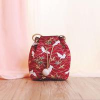 Designer female shoulder bags Silk Brocade Phone bag lady messenger bags vintage crossbody Chinese embroidery women Bucket bag