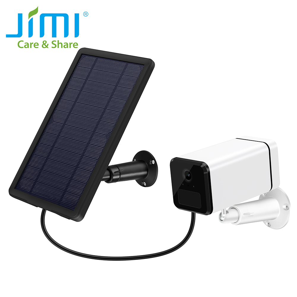Jimi JH018 4G IP Camera Full 1080p Solar Panel Rechargeable Battery Powered Work With 4G SIM Card OrWifi Outdoor Security Camera