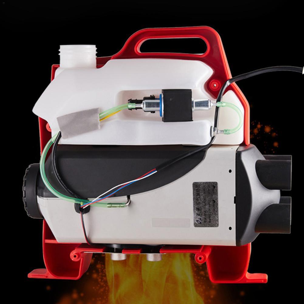 Aria Diesel Riscaldatore 12 V/24 V 5KW Quattro Fori di richiamo Auto Riscaldatore di Parcheggio Universale Per Il Trasporto Merci Veicoli Vans di Stoccaggio batteria Auto CAMPER Camion - 4