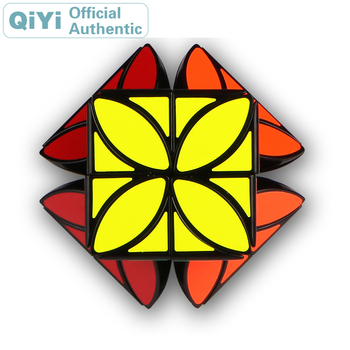 QiYi MoFangGe Clover Magic Cube Plus XMD 4 Leaf Cubo Magico Professional Neo Speed Cube Puzzle Antistress Toys xmd x man galaxy v2 megaminxeds cube qiyi mofangge professional speed magic cubes neo magico cubo puzzles cube toys for children