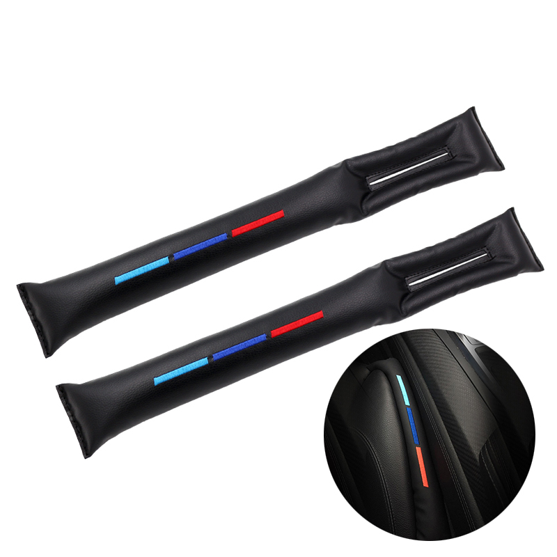 2 Pcs Car Gap Pad Cushion Filler Seat Crack Gap Pad For Bmw M Sticker X1 X3 X4 X5 X6 X7 E46 E90 F20 E60 E39 F10 Car Accessories