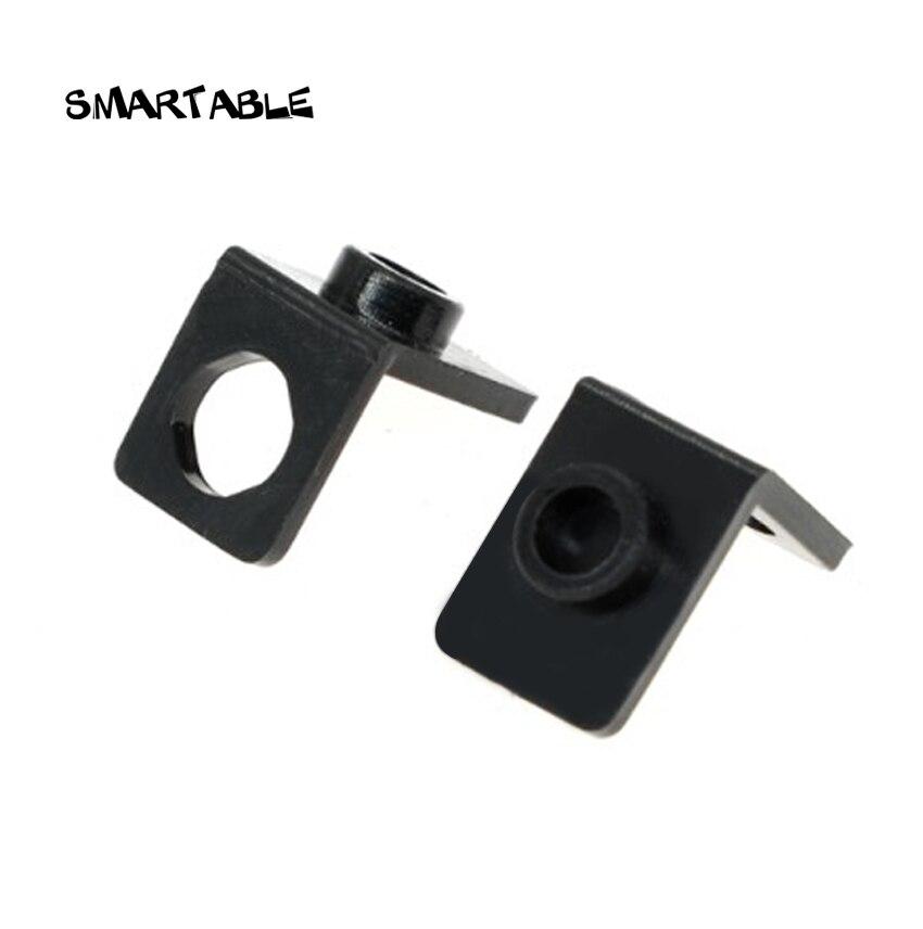 Smartable Bracket 1x1-1x1 Tray For Figures Building Blocks MOC Part Toys For Kids Compatible Major Brands 42446 Toys 100pcs/lot