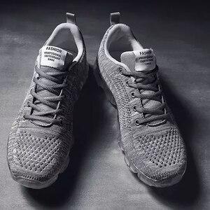 Image 3 - Nouvelles Chaussures De Mode Ultra Respirant Maille Sneaker Chaussures de Course De Sport Confortables Chaussures Pour Hommes Jogging Chaussures Décontractées Formateurs Lend