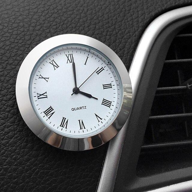 2020 decoración del coche medidor electrónico reloj de coche reloj adhesivo Interior accesorios para el coche Toyota Camry Corolla RAV4