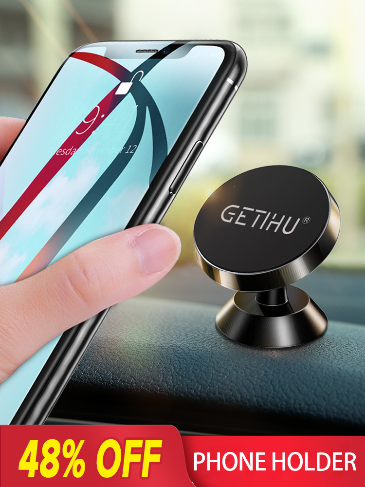 GETIHU Universal Magnetic Car Phone Holder Mobile Cell Air Vent Mount Magnet GPS Stand