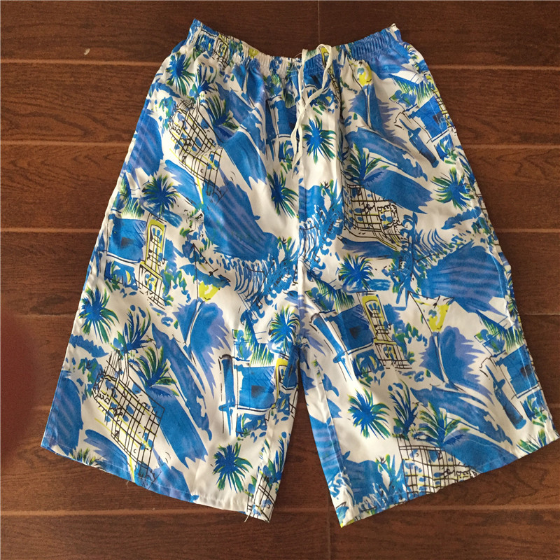 Beach Shorts Loose-Fit Quick-Dry Printed Short Casual Sports Surf Beach Drifting Multi-color