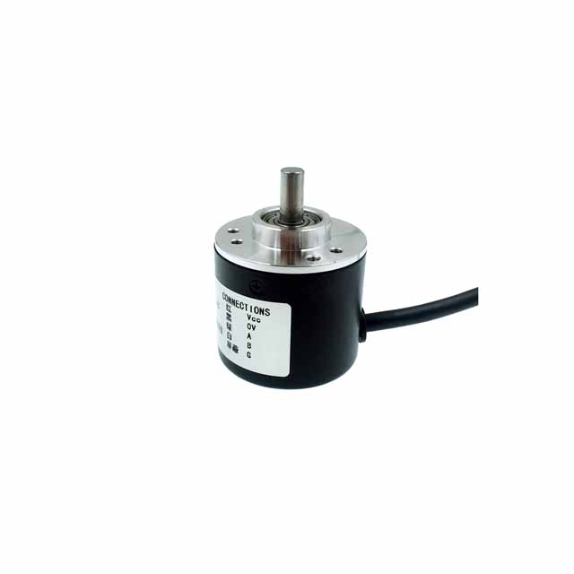 A19-- <font><b>100</b></font> 200 300 360 <font><b>400</b></font> 600 Pulse Incremental Optical Rotary Encoder AB Two-phase 5-24V circuit NPN open collector output image