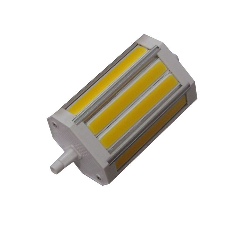 New design 30W R7S led light 118mm dimmable J118 COB R7S lamp without Fan replace 300W halogen lamp AC110-240V