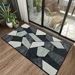 Tapis de cuisine anti-dérapant tapis de bain moderne paillasson d'entrée Tapete tapis pour chambre tapis de prière antidérapant salon tapis de bureau