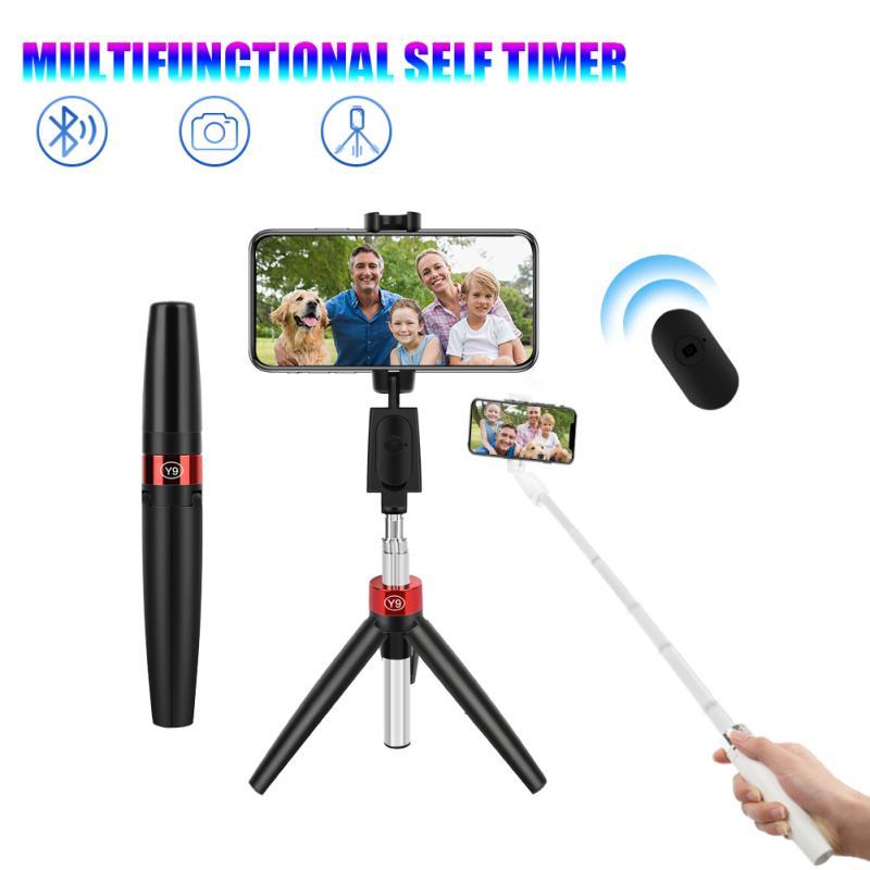 3 в 1 штатив для селфи палка для селфи с Bluetooth мобильный телефон держатель Подставка для Huawei съемки видео Youtuber Tiktok Vlogger