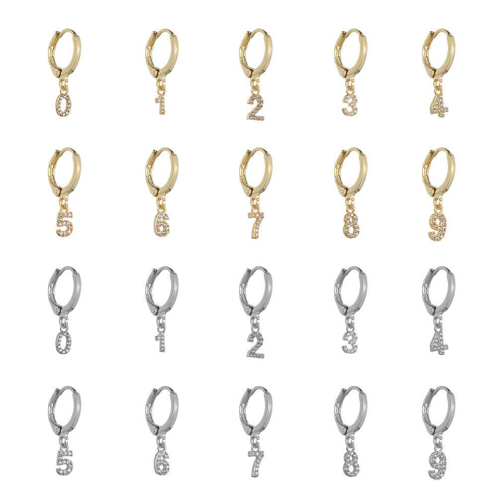 1 זוג ירח כוכב נשים של עגילי אסימטרית עגול חישוק להתנדנד עגילי זהב רסיס צבע סהר קסם תכשיטי אבזרים