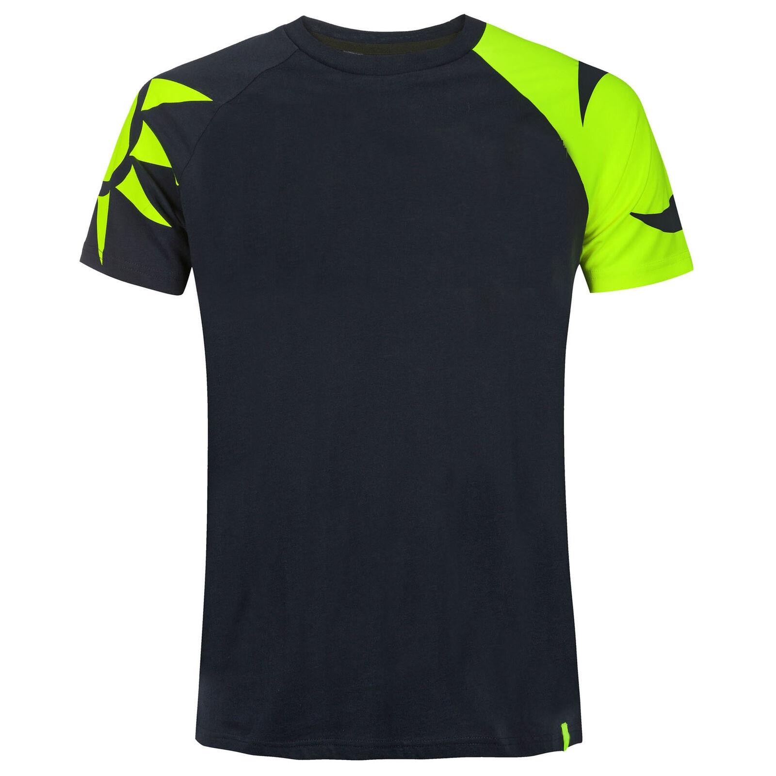 Free Shipping Moto GP Short Sleeve T-shirt Blue yellow Team Racing MX MTB Jersey
