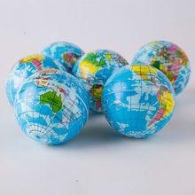 Kreative Welt Karte Schaum Ball Planet Erde Squishy Spielzeug Langsam Rising Weichen Stress Relief Antistress Neuheit Gag Spielzeug Lustige Geschenk decor