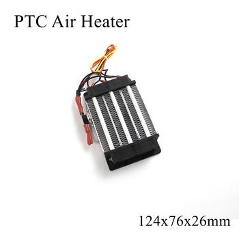 124x76x26mm 220V 600W ogrzewacz ptc ceramiczny termistor ogrzewanie powietrza Mini grzejniki zewnętrzne indukcyjna woda akwariowa samochód Film płyta tanie i dobre opinie Patio grzejniki Elektryczne Zaopatrzony