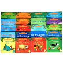 20pcs/set Usborne Farmyard Tales Books in English Children Famous Education English Story Book
