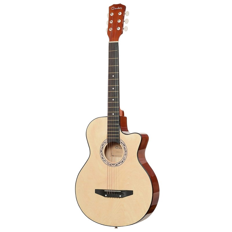 Guitar Acoustic Guitar COWBOY 38C N hot 5x sound hole pickup for acoustic guitar with tone volume control