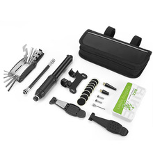 Bicycle Repair Kits Bag Bicicle Tools 15 in 1 Hex Spoke Cycling Screwdriver Tire Multifunction Bike
