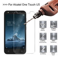 9H HD Tempered Glass For Alcatel U5 A30 C5 C7 A7 Screen Protector For Alcatel Pop 3 4 5.0 Pixi 3 Idol 3 5S 6060 Protective Glass