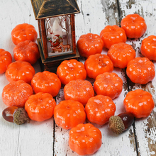Halloween-Decoration Artificial-Pumpkins Simulation Craft Party-Decor Fake Vegetable