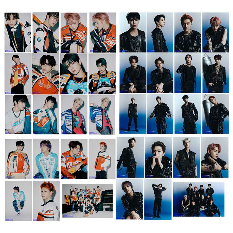 19PCS/Set KPOP NCT 127 New Album Neo Zone: The Final Round Crystal LOMO Card Self Made Photocard Paper Cards image