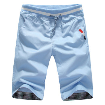 Summer Cropped Trousers For Men Casual Shorts Men's Short Casual Pants MEN'S Trousers Large Amount Favorably Dk08