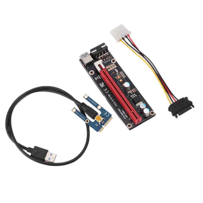 Mini PCIe to PCI Express 16X Riser for Laptop External image Card EXP GDC BTC Antminer Miner MPCIe to PCI-E Slot Mining Card