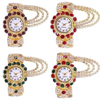 2021 Top Brand Luxury Rhinestone Bracelet Watch Women Watches Ladies Wristwatch Relogio Feminino Reloj Mujer Montre Femme Clock