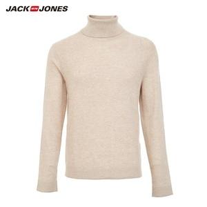 Image 5 - JackJones Mens Smart Casual basic Long sleeved Turtleneck Sweater 219324520