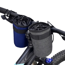 Jazda na rowerze rower nylonowa torba rozgrzewająca uchwyt na butelkę wody pokrowiec na butelkę chłodząca torba termiczna na rower sportowy akcesoria AHPU w Bidony rowerowe od Sport i rozrywka na