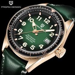 PAGANI Design Brand Men Watches Automatic Stainless Steel Waterproof Watch Men 2020 Luxury Business Sport Mechanical Wristwatch