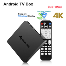 Original DEALDIG BOXD6 Smart TV Box Android 7.1 Amlogic S912