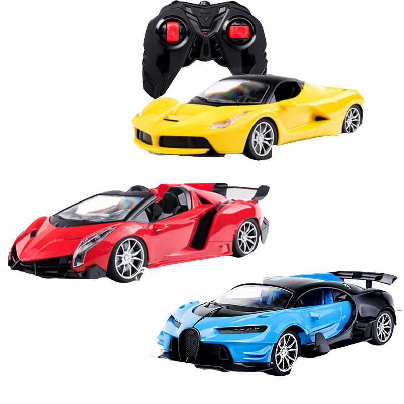 Moteurs conduire haute vitesse course enfants garçons fille enfants télécommande voiture modèle luxe sport voiture jouet 2.4G RC jouets électriques