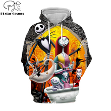 PLstar Cosmos jack skellington Corpse Bride 3d hoodies/shirt/Sweatshirt Winter Christmas Halloween streetwear-13