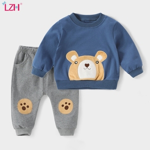 Kids Tracksuit For Boys Clothing 2020 Spring Fall Toddler Girl Boys Clothes T-shirt+Pant 2pcs Outfit Suit Children Clothing Sets