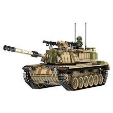 Всемирно известный Танк Строительный блок бронированный автомобиль серии WW2 Magach модель танка комплект совместим с lego военные игрушки для мальчиков