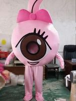 Blue Pink Big Eyes Mascot Costume Suit Cosplay Party Game Fancy Dress Outfits Advertising Promotion Carnival Halloween Parade #