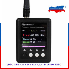 Compteur de fréquence SURECOM SF 401 plus compteur de fréquence 27Mhz 3000Mhz Radio compteur de fréquence Portable avec décodeur CTCCSS/DCS
