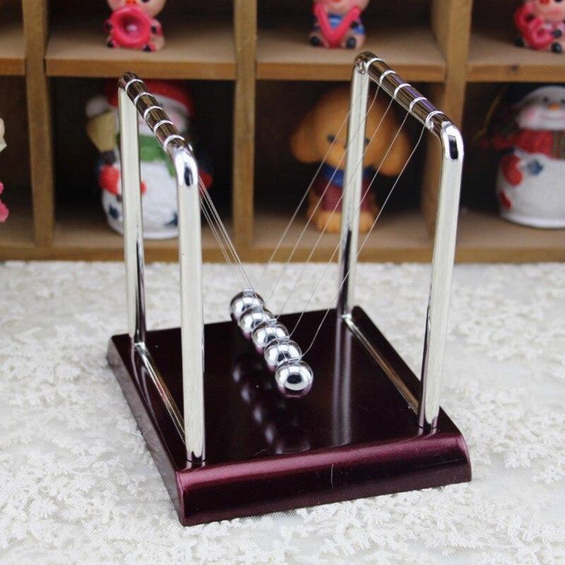 Развивающая настольная игрушка для раннего развития, настольная игрушка в подарок, Колыбель Ньютона, стальной Балансирующий шар, маятник д...