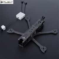 Newest iFlight DC5 222mm 5inch HD FPV Freestyle Frame Kit with 5mm Arm Compatible 5inch Prop for FPV Air Unit Digital