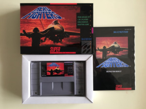 16Bit Games ** Aero Fighters ( USA Version!! Box+Manual+Cartridge!! )|fighter| |  -