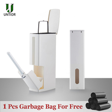 UNTIOR wielofunkcyjny kosz na śmieci kosz na odpady z tworzyw sztucznych z szczotka do wc wiadro na śmieci kosz na śmieci kuchnia czyszczenie łazienki kosz na śmieci