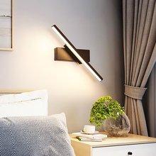 Rotate Wall Light 330 ° obrotowe regulowane światło kąt kryty LED kinkiet prosta oprawa oświetleniowa aluminium AC110 220V tanie tanio H JOY ROHS Z certyfikatem VDE NONE CN (pochodzenie) W górę iw dół KİTCHEN Do jadalni Do sypialni foyer do nauki Łazienka