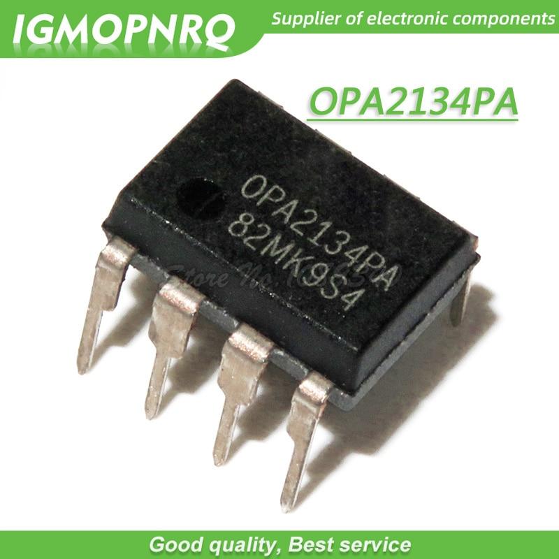 5pcs OPA2134P OPA2134PA OPA2134 DIP-8 Audio Amplifiers SoundPlus(TM) Hi-Perf Aud Oper Amp new original