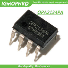 5pcs OPA2134P OPA2134PA OPA2134 DIP-8 Audio Amplifiers SoundPlus(TM) Hi-Perf Aud Oper Amp new original