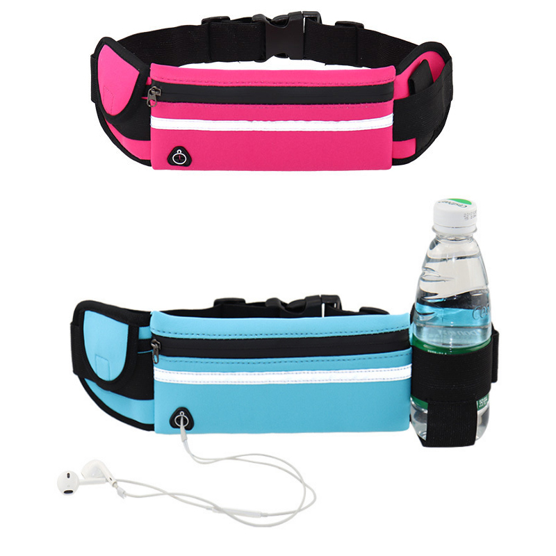 Women Waist Packs Running Funny-Pack Bottle Holder Belt-Pouch Cycling Kidney Waterproof Sport Unisex Bum Bags Sac Banane